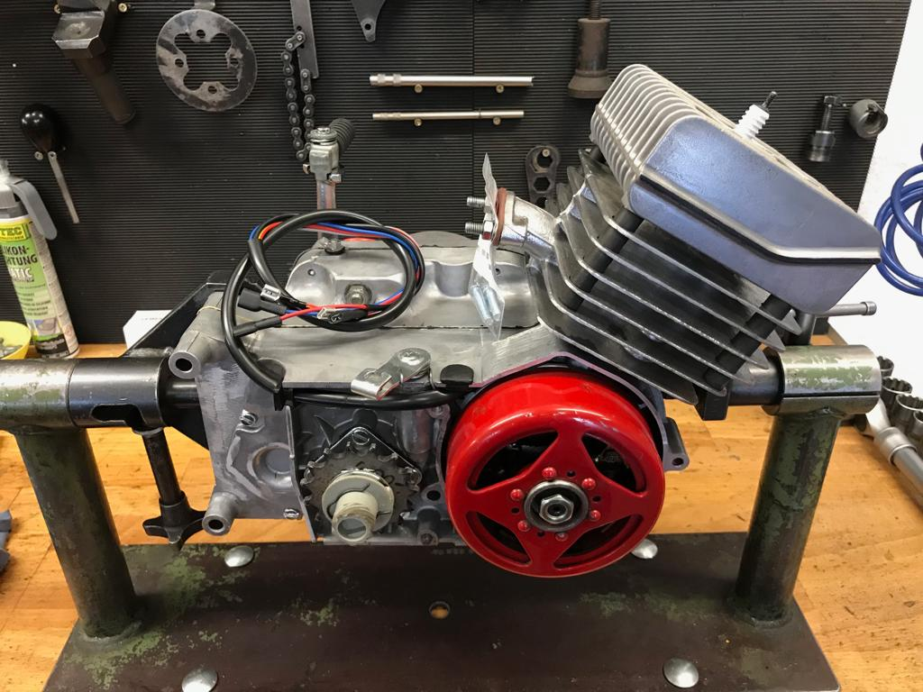 Simson S51 Motor regeniert aus Meisterhand